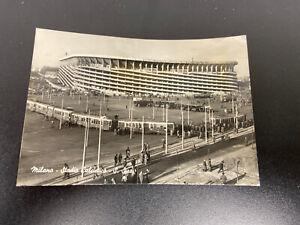 MILANO - STADIO DI S.SIRO VIAGGIATA 25.05.1956 ANIMATA RARA SU EBAY NON PRESENTE