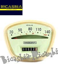 8286 - COMPTEUR KILOMÉTRIQUE VEGLIA A 140 KM LAMBRETTA 125 150 200 LI SX TV GP
