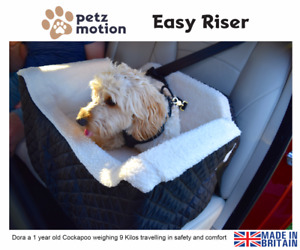PetzMotion Easy Riser Pet/Dog Booster Safety Car Seat