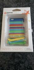 Griffin Snappy Stripes Case for Apple iPod Touch 4th Generation 8GB 32GB 64GB
