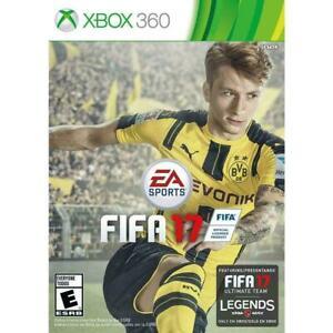 FIFA 17 XBOX 360 NEW! SOCCER FUTBOL, LIONEL MESSI Cristiano Ronaldo GAME PARTY