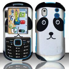For Samsung Intensity 2 U460 Rubberized Design Hard Cover Case Panda Bear