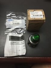 Cutler - Hammer Eaton Series A1 Green LED Pilot Light Catalog # HT8HFGF3 New!