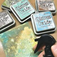 Bargain!! Tim Holtz Distress Oxide Ink Pads - 12 Colours of Your Choice.