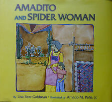 Amadito and Spider Woman, hardback children's picture book