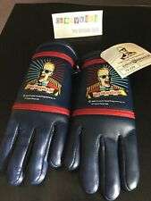 Vintage 1986 Max Headroom Blue Children's Winter Gloves Chrysalis Visual NWT