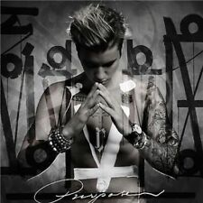 JUSTIN BIEBER Purpose Deluxe Album 18 Tracks CD BRAND NEW
