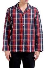 "Hugo Boss ""Pyjama2"" Men's Multi-Color Plaid Long Sleeve Pajama Shirt US M IT 50"