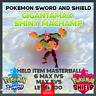 Gigantamax Shiny Machamp | Pokemon Sword & Shield | 6IVS | Level 100 |