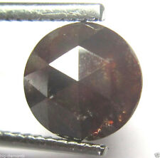 1.86Cts Rose Cut Diamond Natural Real Beautiful Red Color Round Shape 8.04x3.42