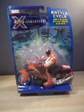 X-MEN EVOLUTION WOLVERINE BUMP & GO BATTLE CYCLE FIGURE 2001 TOY BIZ NEW NIB
