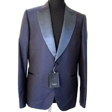 J-1403129 New Paul Smith Mens Blue Soho Blazer Suit Jacket & Pants Size 52 US 42