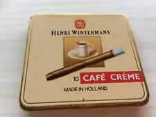 VINTAGE HENRI WINTERMANS  CAFE CREME TIN