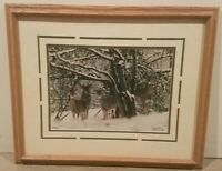 """Mark And Sue Werner Ltd Ed Photographic Art Print Framed and Signed 1995 18""""×22"""""""
