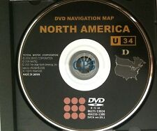 09.1 Update 2008 2009 Scion xB xD tC GEN5 Navigation OEM DVD Map U34 U.S Canada