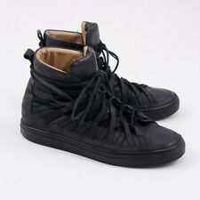 DAMIR DOMA 'Falco' Black Leather High Top Sneakers Eu 44 (fits US 11.5) Shoes