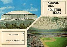 postcard   USA  Texas Greetings from Houston Texas   posted