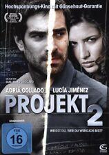 Projekt 2 - wer bin ich wirklich? Kino mit Gänsehaut-Garantie auf DVD NEU & OVP