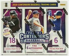 2020 Panini Contenders MLB Baseball card Hobby Box (6 autos!) BRAND NEW. WOW