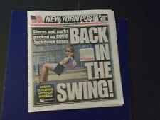 'NY OPENS STORES, PARKS OPEN/ '2020 MLB SEASON BEGINS'  NEW YORK POST  6/23/20