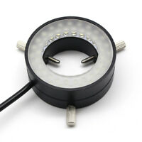 Industrial Microscope LED Ring Light Inner 30mm Vision Light Source Adjustable
