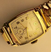 Vintage Boulevard Watch~10k Rolled Gold Top~17 Jewel Swiss Movement, Rus Well
