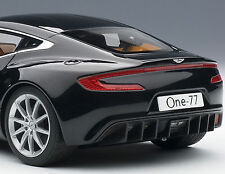 AUTOART 1/18 ASTON MARTIN ONE-77 BLACK PEARL 70241 LIMITED EDITION