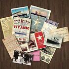 Titanic - White Star Line Ocean Ship Travel Memorabilia Replica Documents Pack