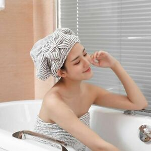 1/2Pcs Microfiber Hair Towel Cap Soft Absorbent Quick Drying  for Curly Thick*