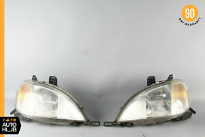 98-01 Mercedes W163 ML430 ML320 Headlight Lamp Halogen Right & Left Set OEM