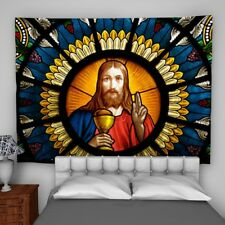 Altar Window Wall Hanging Tapestry Psychedelic Bedroom Home Decoration