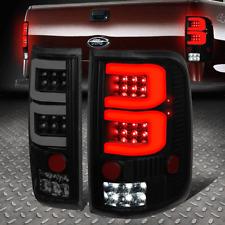 [FULL LED+DUAL 3D TUBE BAR]FOR 04-08 FORD F150/LOBO TAIL LIGHT/BRAKE LAMP TINTED