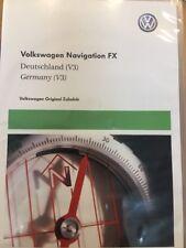 volkswagen VW Navigation DVD FX Germany Maps V3 Deutschland Karte