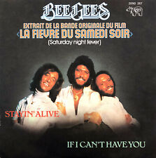 "Bee Gees 7"" Stayin' Alive - France (EX/EX+)"