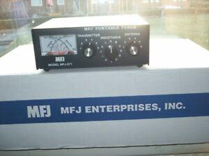 mfj antenna tuner model 971 black good condition