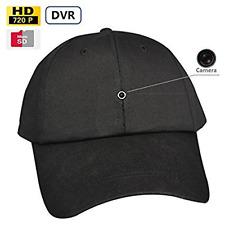 Video Recording Cap Hidden Mini Spy Camera Hat HD Camera &720p Video Camera DVR