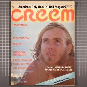Creem Magazine  November 1974  Led Zeppelin Beatles Todd Rundgren Lou Reed