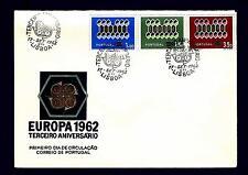 PORTUGAL - PORTOGALLO - 1962 - Europa - Scott 895/897