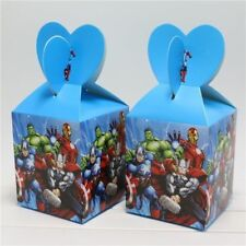 12pcs Kids Lovely Avengers Children Party Candy Box Birthday Supplies Favor