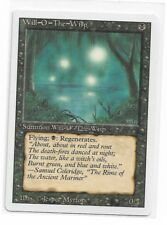 Magic The Gathering ~ 1x Will-O'-The-Wisp ~ REVISED ~ M/NM