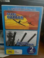 2 Game Collector Pack - Pearl Harbor & Battle Fleet -  PC GAME - FREE POST