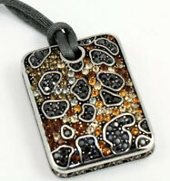 Brighton Leopard Totem Topaz Reversible Crystal Necklace New