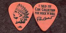 MR BIG 2009 Reunion Tour Guitar Pick!!! PAUL GILBERT custom concert stage Pick