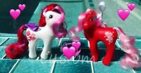 G1 Style Artistry Girls - Valentine Custom Pony Hqg1c - Lovebound & Spellbound