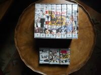 Beatles Job Lot Anthology 3 Cassettes + 8 vhs Tapes Box Set.
