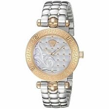Versace Women's Micro Vanitas 30mm Steel Case Swiss Quartz Watch VQM110016