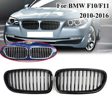 Gloss Black Kidney Grill Grille For BMW F18 F10 F11 5 Series 528i 535i 2010-2016