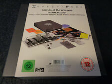DEPECHE MODE SOUNDS OF THE UNIVERSE-DELUXE BOX SET-3 CD 1 DVD 2 BOOK POST-M22-FL