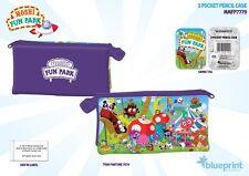 Moshi Monsters Fun Park - 3 Pocket Pencil Case