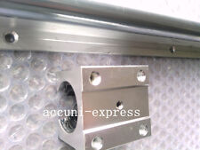 2pcs linear bearing slide unit SBR20-800mm rails+4pcs blocksfor CNC